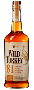 Wild Turkey Bourbon 81 Proof 750ml